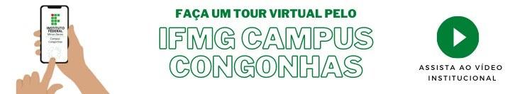 Tour virtual pelo IFMG Campus Congonhas