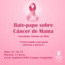 Bate papo Cancer de Mama