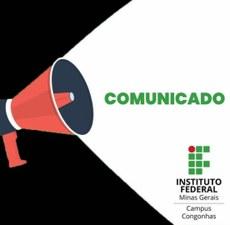 Comunicados oficiais - IFMG Campus Congonhas
