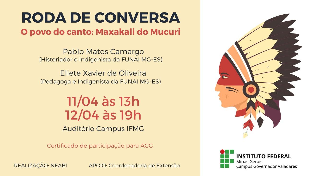 Abril Indígena - Roda de Conversa