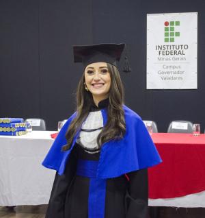 Formanda Laysa Rachid Gomes