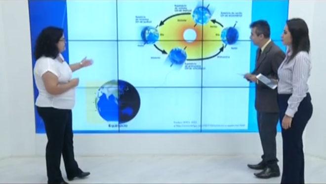 Profª Daniela Cunha no InterTV dos Vales - primavera