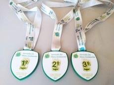 Medalhas 1º Concurso de Fotografia Ambiental