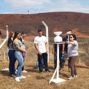 Visita Estação Meteorológica - Univale