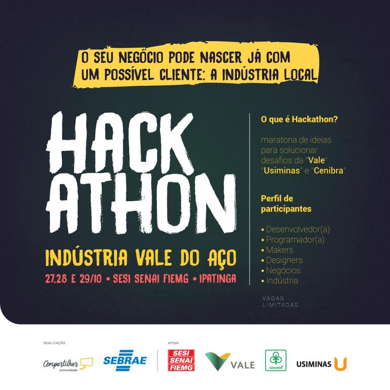 Hackathon no Vale do Aço