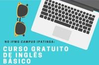 Curso gratuito de Inglês Básico 2019/2