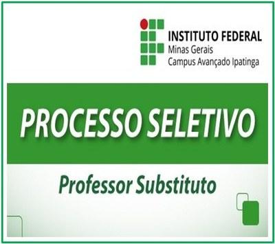 Processo de Seletivo Simplificado para Professor Substituto em Química - Edital Nº 05/2019 -  IFMG Campus Ipatinga