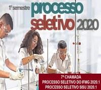 7ª chamada para matrículas do curso de graduação em Engenharia Elétrica - Processo Seletivo do IFMG 2020/1 e SISU 2020.