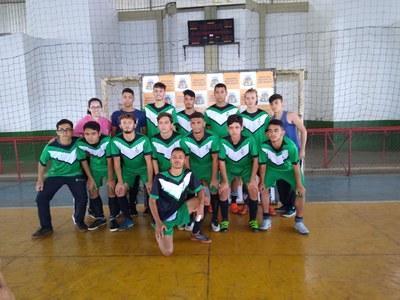 Equipe de Futsal Masculino do IFMG Ouro Branco.