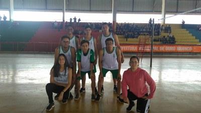 Equipe de Volei Masculino do IFMG Ouro Branco.