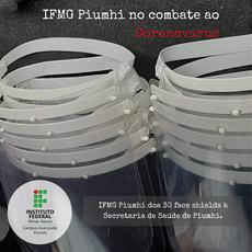 IFMG Piumhi no combate ao Coronavírus.
