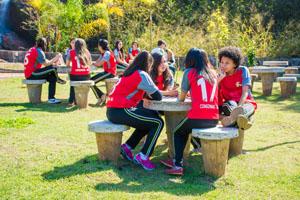 Aula de educação física