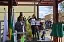 Inauguração da cantina em Congonhas
