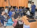 Estudantes do ensino médio participam de oficina do projeto Educação Política
