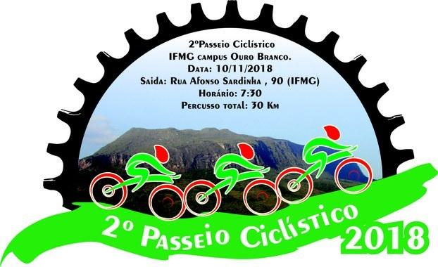 c992830360 II Passeio Ciclístico do Campus Ouro Branco está com inscrições abertas —  Instituto Federal de Educação
