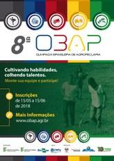 Cartaz da Olimpíada Brasileira de Agropecuária
