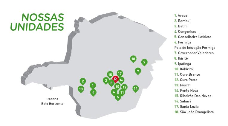 Mapa IFMG