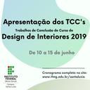 Apresentação do TCC DI